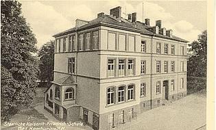 1834 Gründung einer privaten Lateinschule